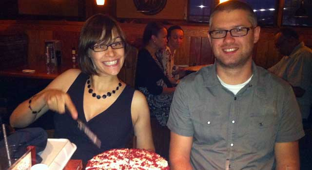 Nick's Birthday at Outback