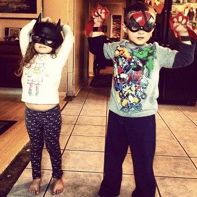 Batgirl-Spider-Man
