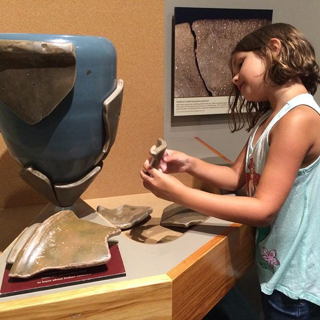 #Meliamae and I had a really fun afternoon at the @CapeFearMuseum.