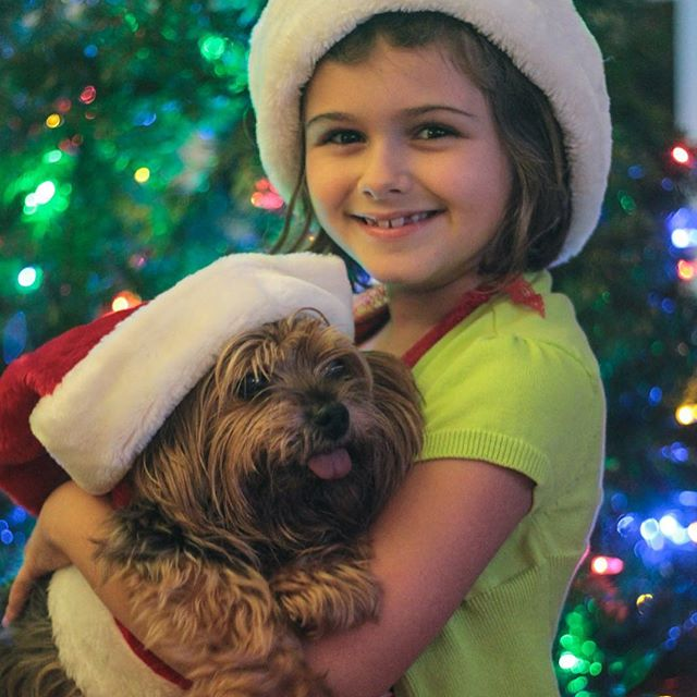 #Meliamae and Pippin #MerryChristmas