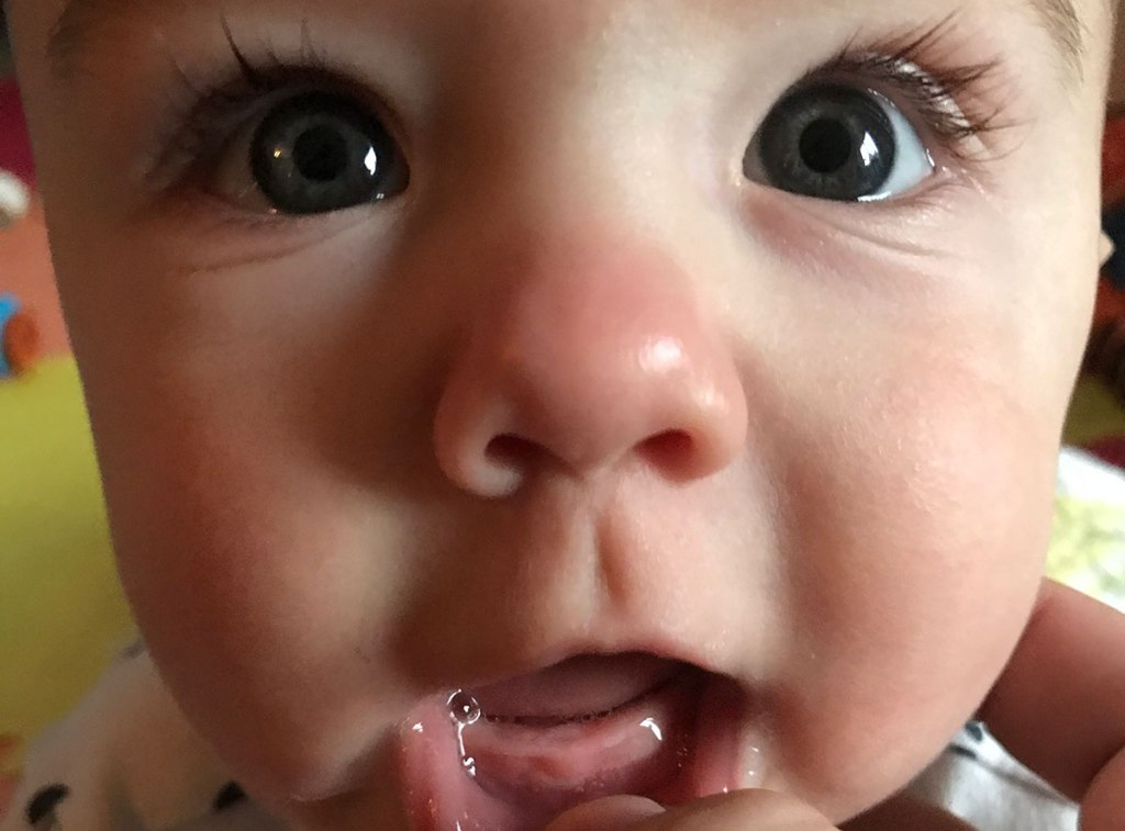 Griffin's First Tooth