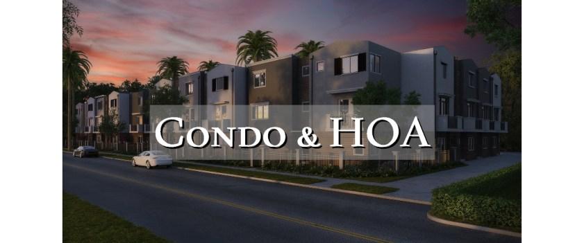 Condos and HOAs
