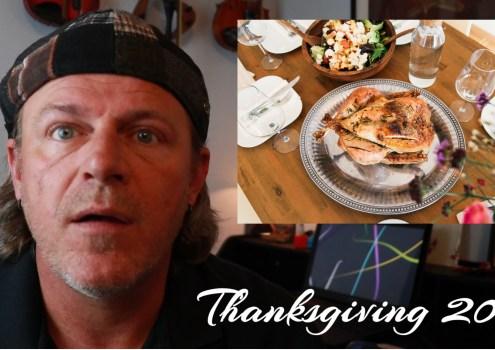 It's Thanksgiving? Already?