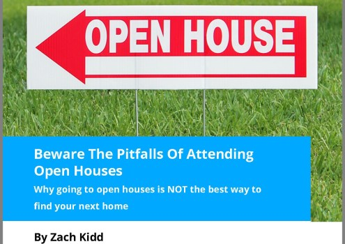 Open Houses? Buyers Beware!