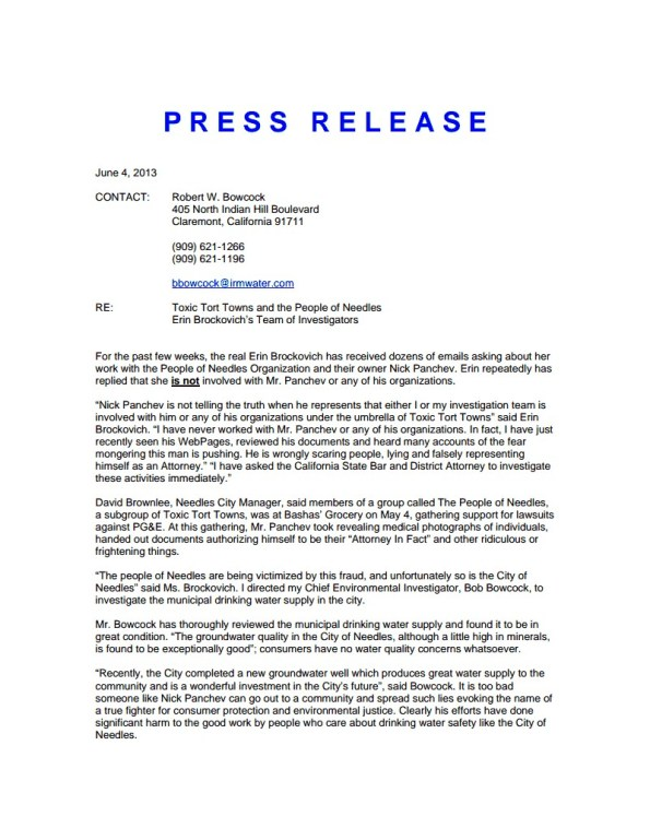 Erin Press Release- Picture- Thursday, June 6th, 2013