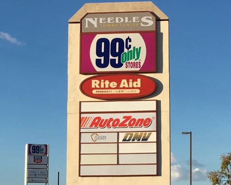 Breaking News Needles CA Pending Closure Of The 99 Cents Only