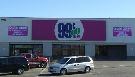 Needles CA Closure Of The 99 Cents Only Store On Friday