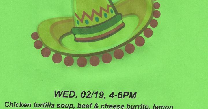 Golden Shores, AZ: Come to Tortilla Soup and Burrito Supper today at Veterans of Foreign Wars Post 6306 and Auxiliary.
