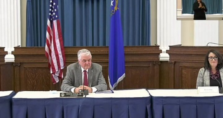 Live News Update: Nevada: Governor Steve Sisolak gives update on the fight against COVID-19.