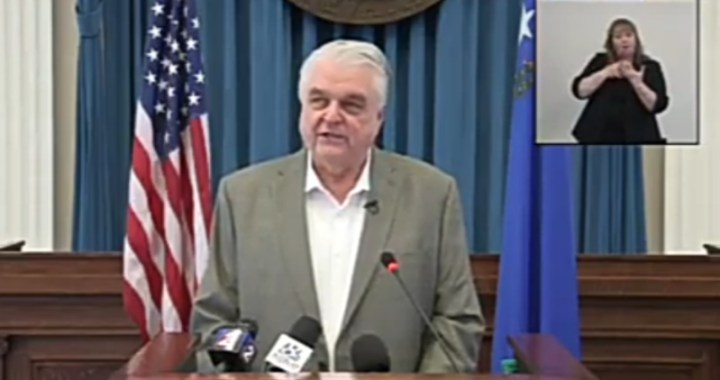 Live News Alert: Nevada: Governor Steve Sisolak holds news conference to unveil Nevada United: Roadmap to Recovery.