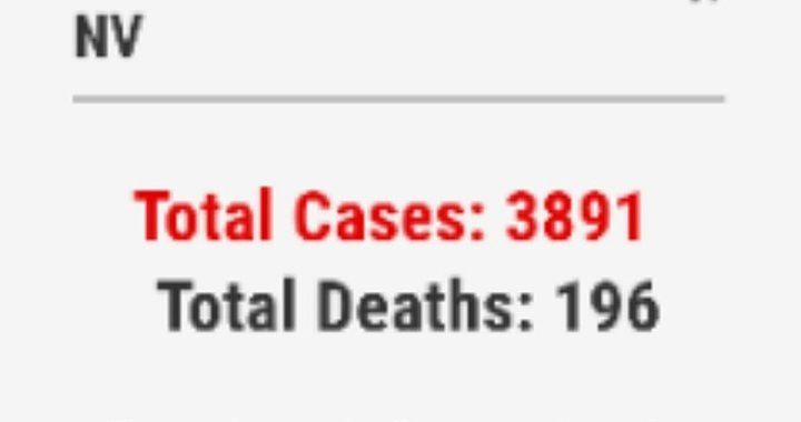 News Update: Clark County, NV: COVID-19 Information; Positive Cases: 3,891 and Deaths: 196.
