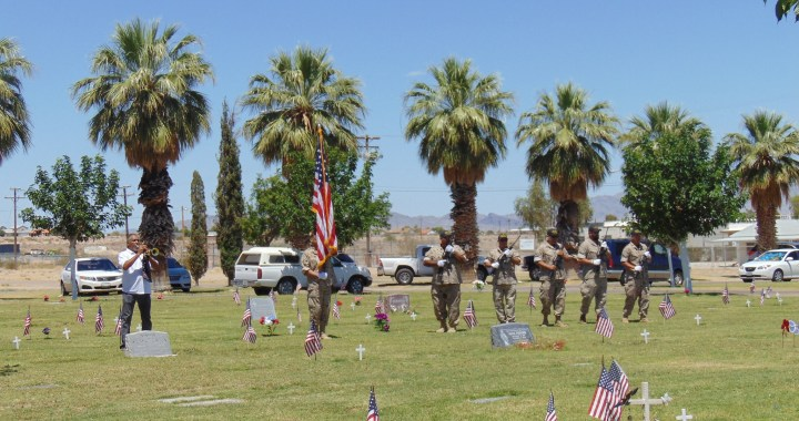Needles, CA: Memorial Day 2020 tribute video put together after local ceremony was canceled due to COVID-19 pandemic.