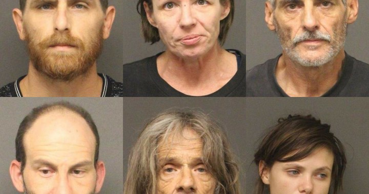 Topock, AZ: Deputies arrested several people on various charges, including dangerous drug possession, drug paraphernalia possession and active arrest warrants.