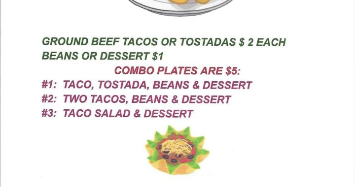 Golden Shores, AZ: Come by the Veterans of Foreign Wars Post 6306 and Auxiliary today for Taco Tuesday.