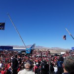 "News Update: Bullhead City, AZ: United States President Donald Trump speaks during ""Make America Great Again Victory Rally"" at Laughlin/Bullhead International Airport."