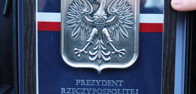 Herb Polski od Prezydenta RP