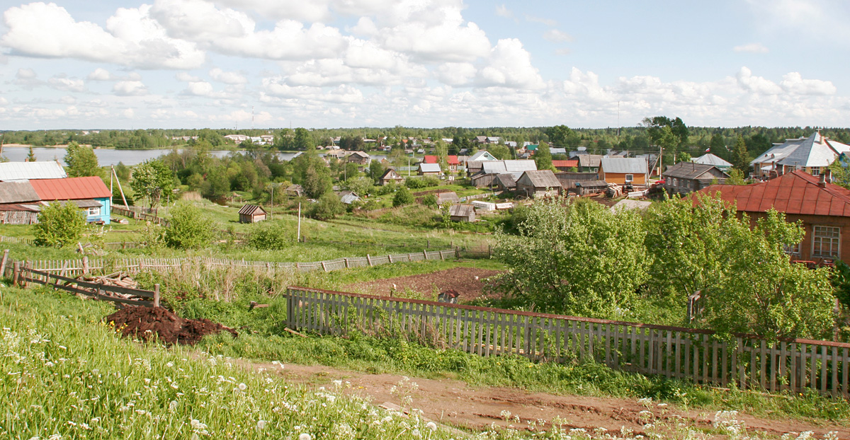 A small town about 130km north of Vologda.