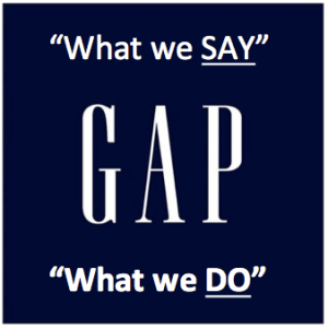 The Say-Do Gap