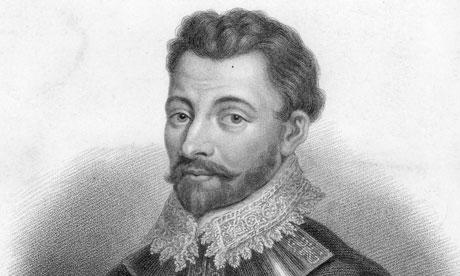 Sir Francis Drake circa 1596