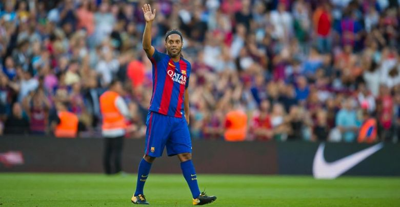 'My dance floor' – Emotional Ronaldinho soaks in Camp Nou on return to Barcelona [VIDEO] – Citi Sports Online