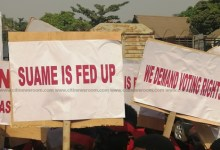 Group in Suame threatens demo over nomination forms challenges
