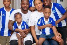 Black Stars midfielder Mubarak Wakaso shares amazing picture of his adorable family [PHOTO] – Citi Sports Online