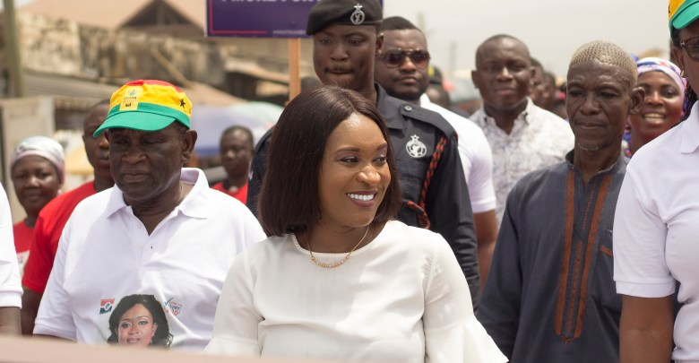 Abena Osei-Asare submits forms to run four more years in Atiwa East