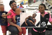 She had two sons and wanted a girl but died giving birth to her -Netizens mourn the death of Ghanaian lady