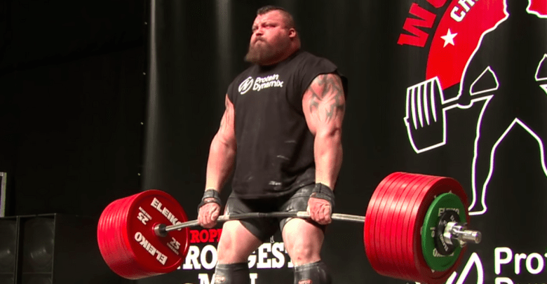 Strongman Eddie Hall Shares How He Trained for His Record-Breaking 1,100 Pound Deadlift [ARTICLE]