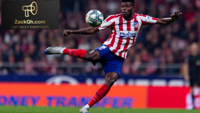 Thomas Partey named in Diego Simeone's three-man untouchables list ahead of La Liga return