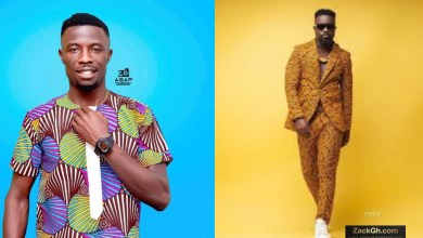 Kwaku Manu Celebrates Sarkodie With 'Cow Meat' Regarding Wine Glass