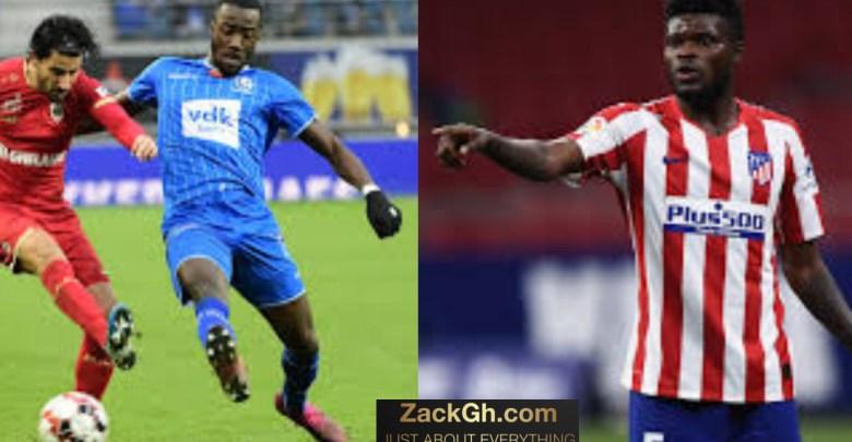 Atletico Madrid to replace Thomas Partey with Elisha Owusu