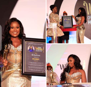 Photos: Berla Mundi Receives A Legit Award After The Feeding Bottle Saga. 4