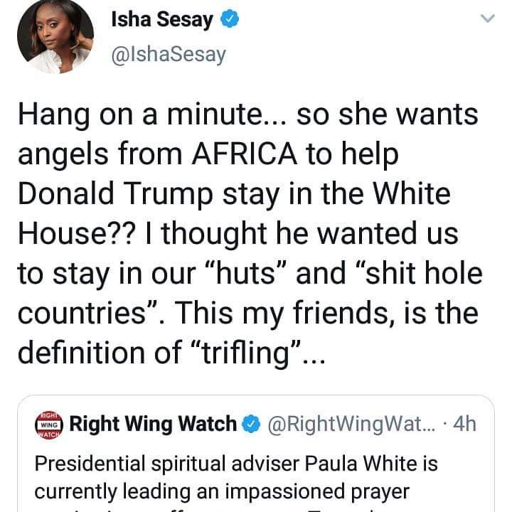 Isha Sesay's Post