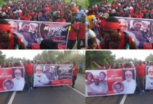 NDC Walks In Memory Of Jerry John Rawlings