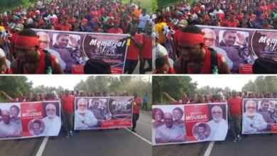 NDC Walks In Memory Of Jerry John Rawlings