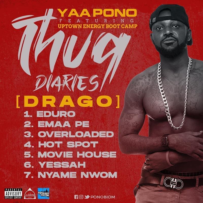 DOWNLOAD MP3: Yaa Pono – Thug Diaries [Drago] EP (Full Album)