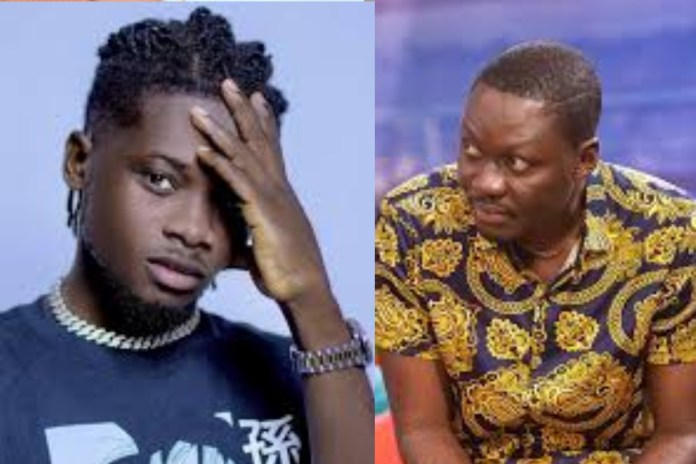 Arnold Baidoo Almost Punches Kuami Eugene With Crazy Dance Moves