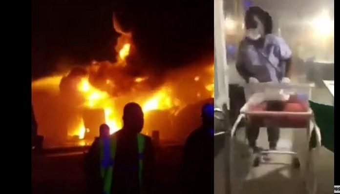 Breaking News: Fire Guts Korle-Bu Teaching Hospital [+Video]