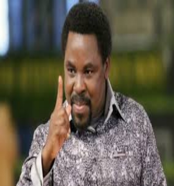 BREAKING: Nigerian Pastor TB Joshua dies at 57