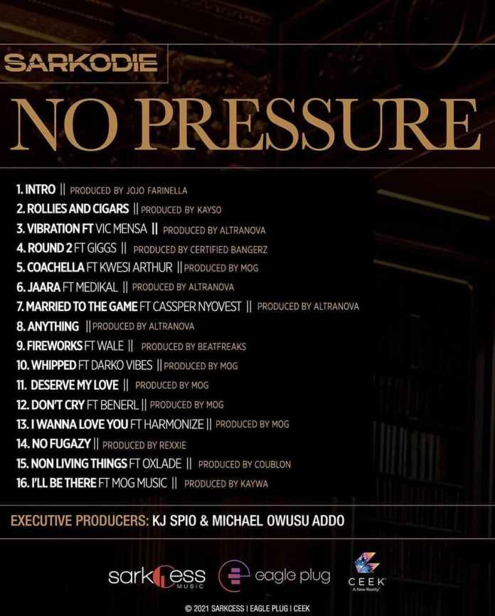 Sarkodie – Fireworks ft Wale (Out of No Pressure Album)