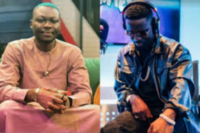 Arnold Asamoah Baidoo descends on Sarkodie, calls him disrespectful