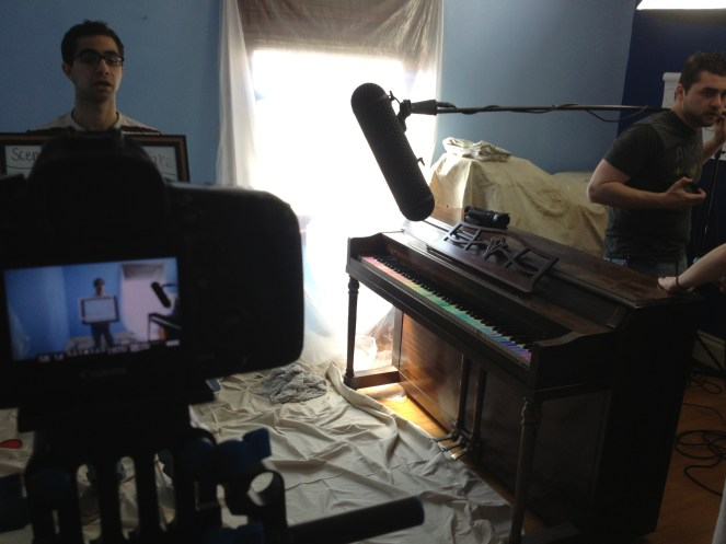 Dave let us take over his actual room for the shoot. No way it would have gotten done without him.