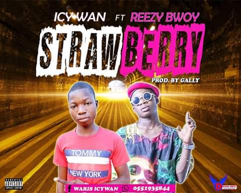DOWNLOAD MP3: Icy Wan - Strawberry ft. Reezy Bwoy (Prod. by Gally)