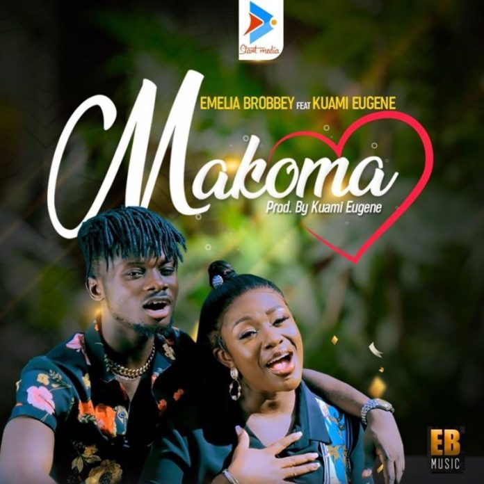 DOWNLOAD MP3: Emelia Brobbey – Makoma Ft Kuami Eugene