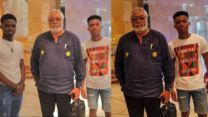 KiDi reveals why he cropped Kuami Eugene out of Rawlings' photo