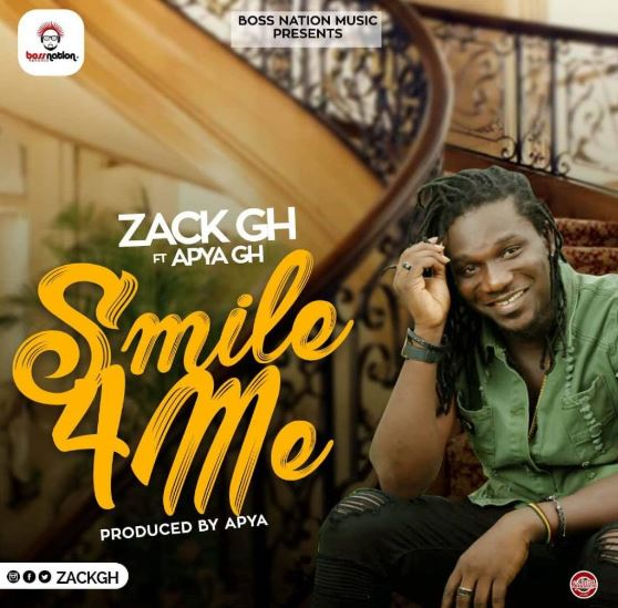 DOWNLOAD MP3: Zack Gh – Smile For Me Ft. Apya (Prod. By Apya)