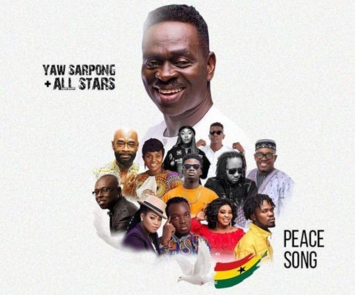 DOWNLOAD MP3: Yaw Sarpong – Peace Song Ft Kuami Eugene, Fameye, Akwaboah, Joyce Blessings, Wutah Afriyie, Eno Barony, Kofi Sarpong, Pat Thomas, Lord Morgan & Dr Pounds