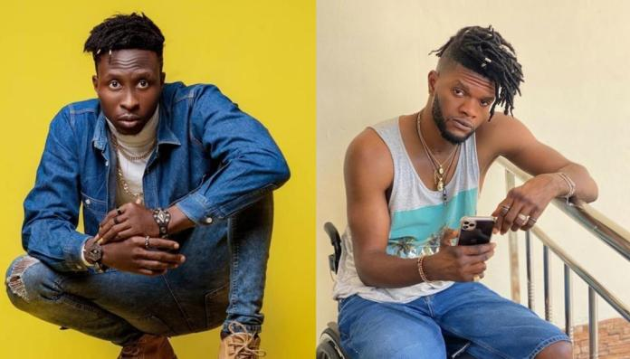 Cryme Officer Apologizes To Ogidi Brown For The Video He Put Out Thr3atening To Leave His Label If Anything Happens To Fameye