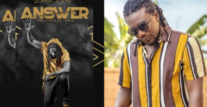 "Zack Gh is set to release his first single of the year captioned ""Answer'"